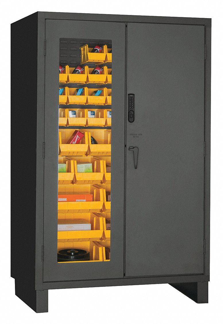 Durham Bin Cabinet Digi 14ga 42bins Yel 36ez28 3703cxc