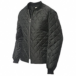 Freezer Jacket,Polyester,Black,2XL