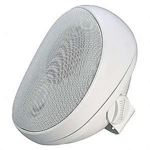 Speaker,White,9-1/2 In.