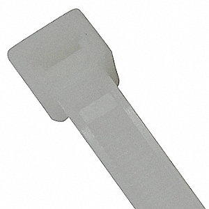 Cable Tie,Standard,8.4 in.,Natrl,PK100