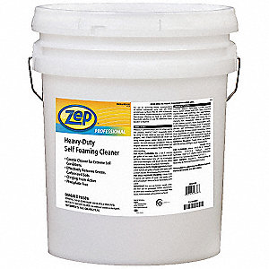 Unscented Heavy-Duty Self Foaming Cleaner, 5 gal. Pail