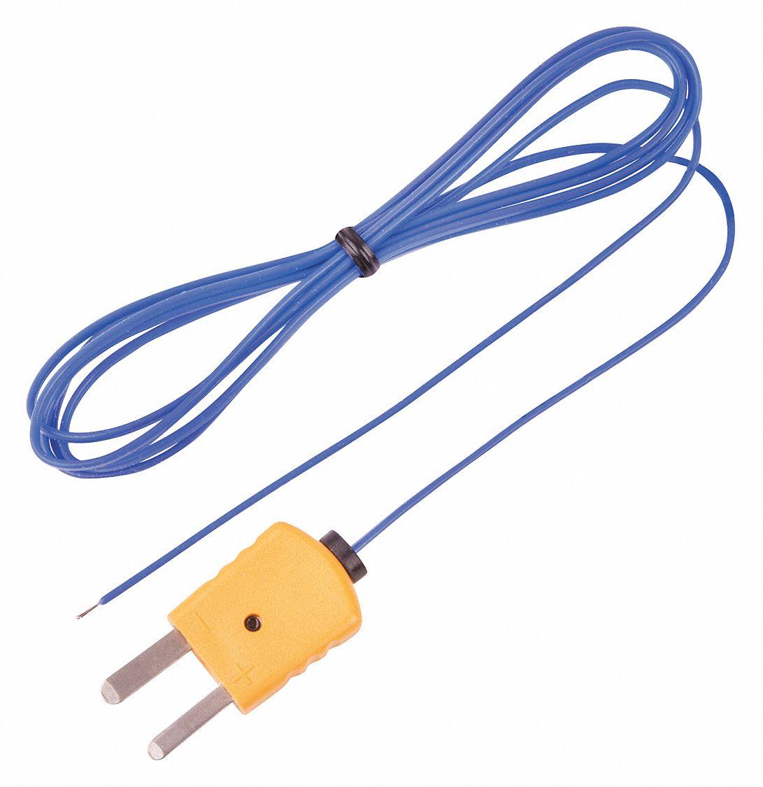 J Thermocouple Wire : Reed instruments mini k thermocouple temperature probe