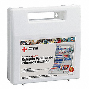 First Aid Kit,Bulk,113Pcs,10 Ppl