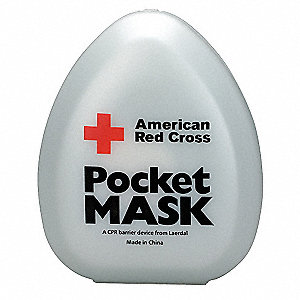 Pocket CPR Mask,Universal,Clamshell