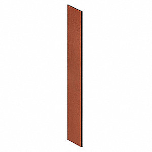 End Panel,Slope Top,D21 x H78,Cherry