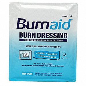 Burn Dressing,Sterile,White