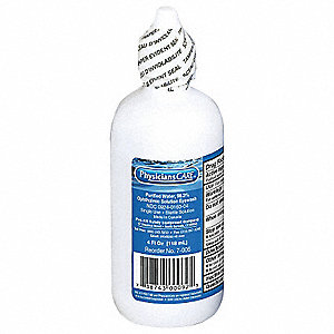 4 oz. Personal Eye Wash Bottle