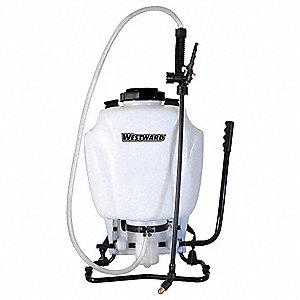 Backpack Sprayer,4 gal.,Poly,80 psi