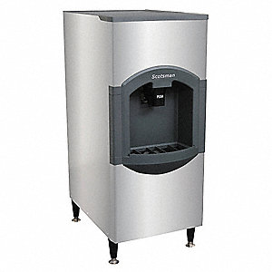 Ice Dispenser,120 lb Storage