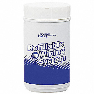 Refillable Wiping System
