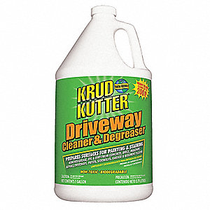 1 gal. Driveway Cleaner & Degreaser, 1 EA