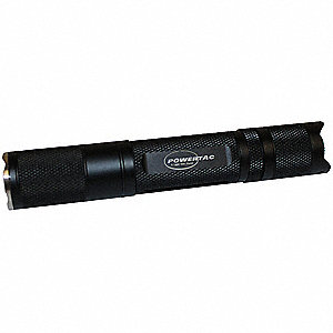 Flashlight,280 Lumens,Aluminum,Black