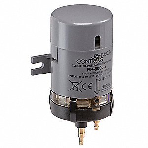 Pneumatic Transducer,0-10 VDC,0.5-19 psi