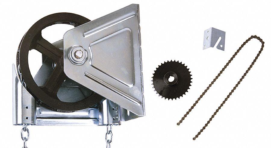 American garage door garage door opener wall mount for Commercial garage door motor