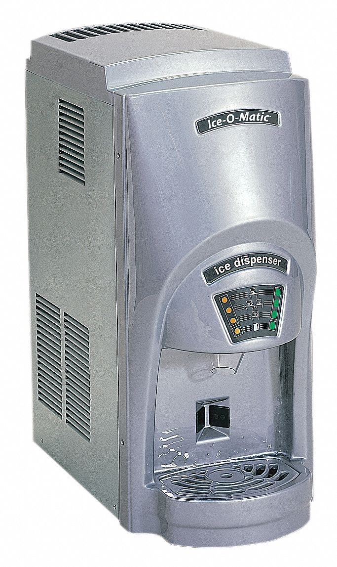 Ice O Matic Countertop Ice Dispenser Ice Maker Water