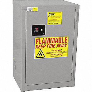 Flammable Liquid Safety Cabinet, Slimline