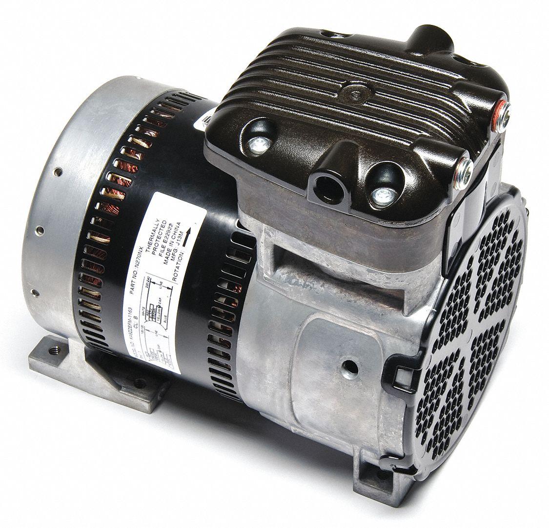Gast 1 4 hp rocking piston air compressor 100 120 200 for Gast air motor distributors
