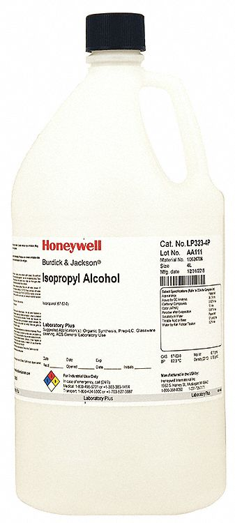 Honeywell Burdick Amp Jackson Isopropyl Alcohol Ch3chohch3