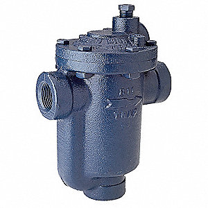 Steam Trap, 250 psi, 750 Lbs/Hr,Max. Temp. 400°F