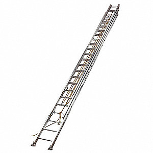 Louisville 60 Ft Aluminum Extension Ladder 250 Lb Load