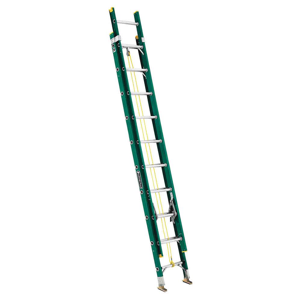 Louisville Fiberglass Type Ii Extension Ladder 20'