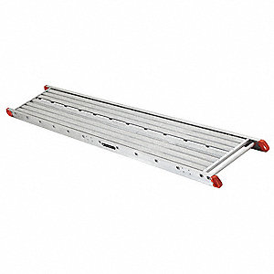 "Two-Person Scaffolding Stage, 28 ft. Length, 24"" Width, 500 lb. Load Capacity"
