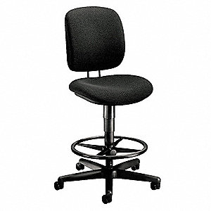 Task Chair,Black,21-3/4 to 31-7/8 In