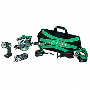 Cordless Combination Kit, Voltage 18.0 NiCd