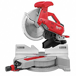 Dual-Bevel Compound Miter Saw,12 In