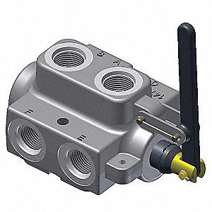 parker gresen hydraulic selector valve 6 way 2 position. Black Bedroom Furniture Sets. Home Design Ideas