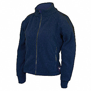 Womens FR Jacket,HRC2,Navy,XLT