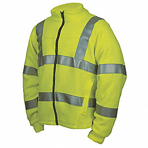 FR Jacket,HRC2,Hi-Vis Yellow,LT