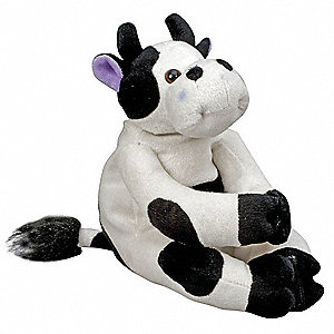 White/Black Kids Hot/Cold Compress, Cow, Disposable: No, Waterproof: Yes