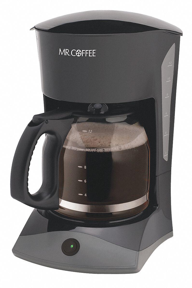 Mr Coffee 12 Cup Plastic Switch Coffee Maker Black