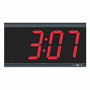 Digital Clock,LED,Digital,4 Digit,4 In