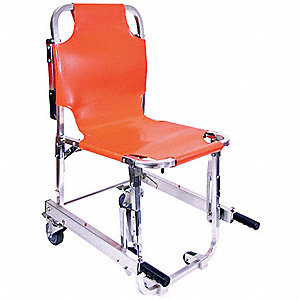 Stair Chair,350 lb. Cap.,Orange