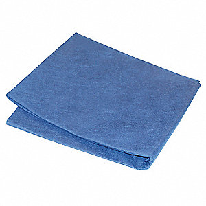 Fitted Cot Sheet,72x30,Lt Blue,PK50