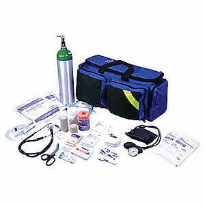 Emergency Medical Kit,Blue,1-10 People