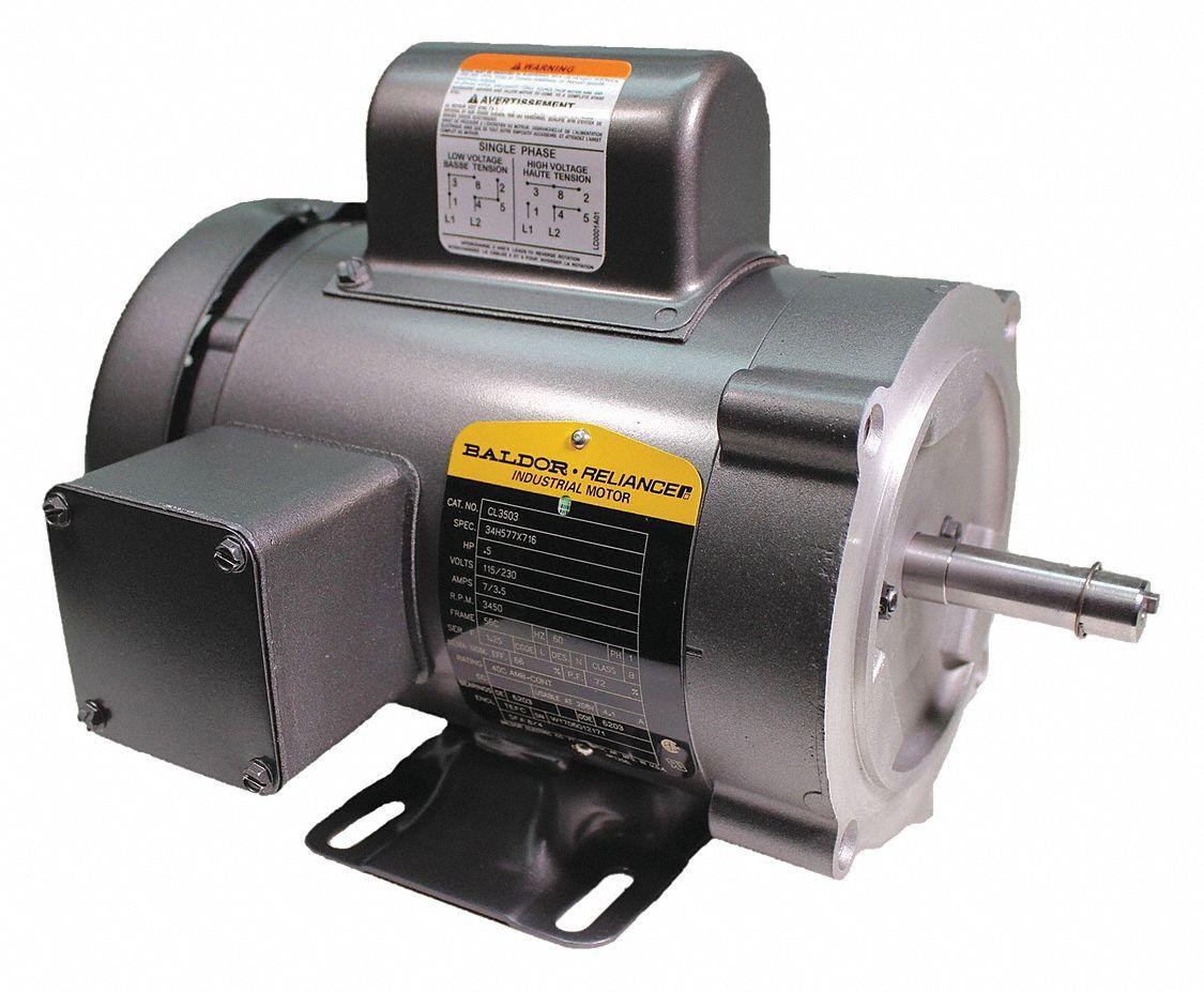 Baldor Electric Motors Grainger