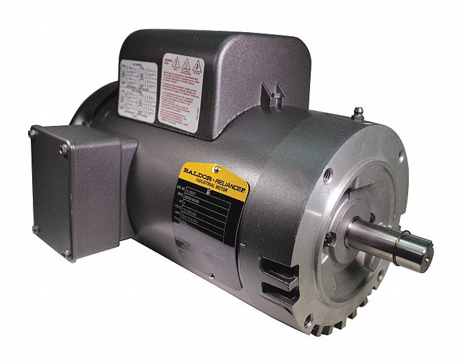 Baldor Electric Motor 2 Hp 1725 Rpm 115 230v 145tc Odp