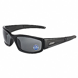 Scratch-Resistant Polarized Safety Sunglasses, Polarized Mirrored Gray Lens Color