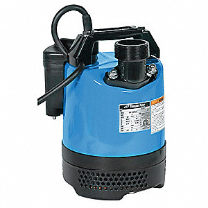 "2/3 HP Automatic Submersible Dewatering Pump, 110 Voltage, Discharge NPT: 2"", 32 ft. Cord Length"