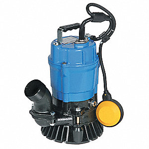 1/2 HP Construction Site/Residential Dewatering Pump, 110 Voltage, Discharge NPT: 2""