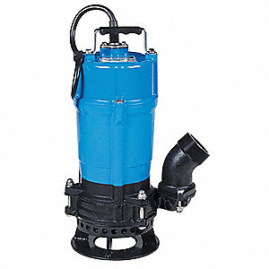 3/4 HP Construction Site/Residential Dewatering Pump, 115 Voltage, Discharge NPT: 2""