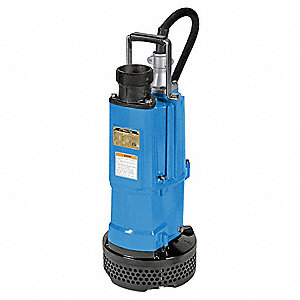 3 HP Construction Site/Residential Dewatering Pump, 220 Voltage, Discharge NPT: 3""