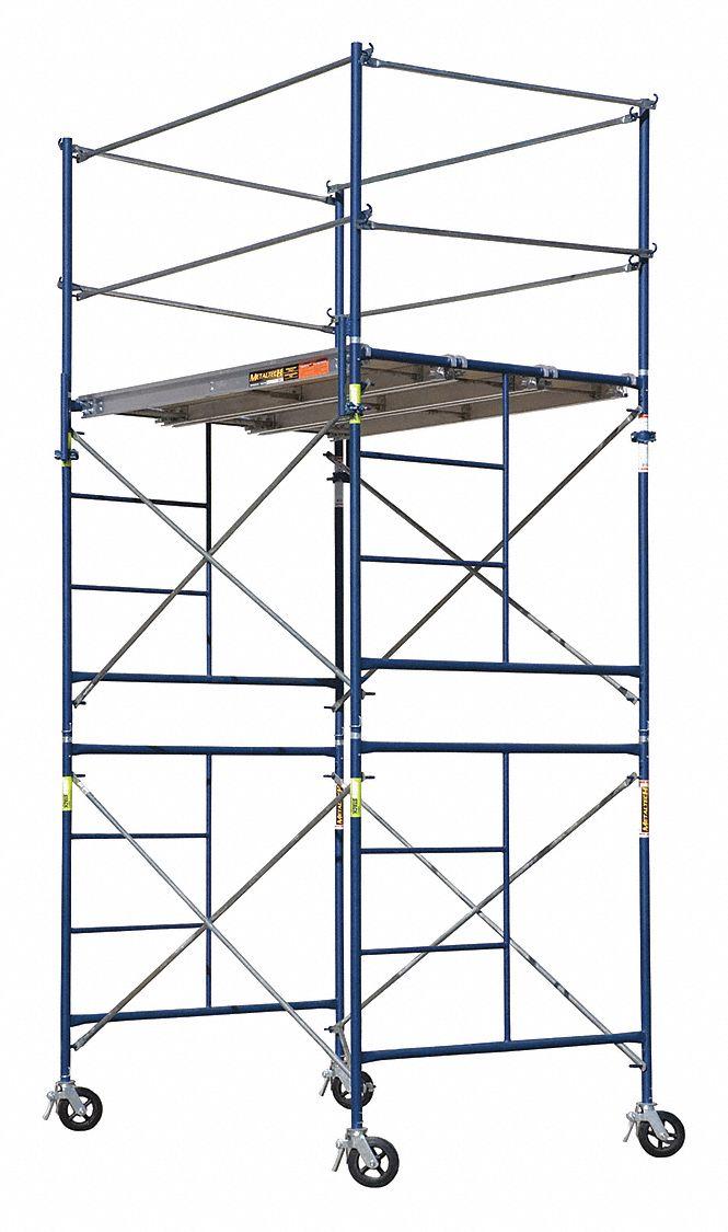Metaltech Scaffold Tower Steel 10 Ft Platform Height
