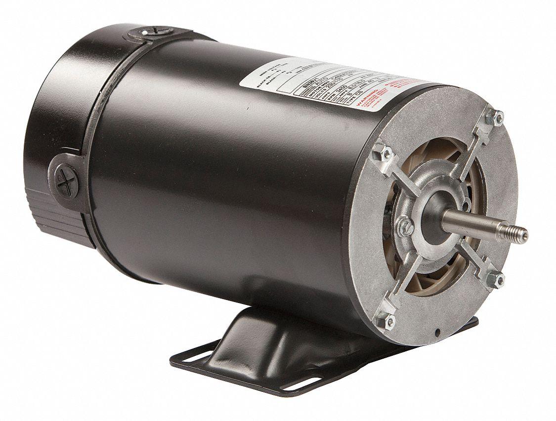 Century 1 1 2 hp pool and spa pump motor capacitor start for Century pool spa motor