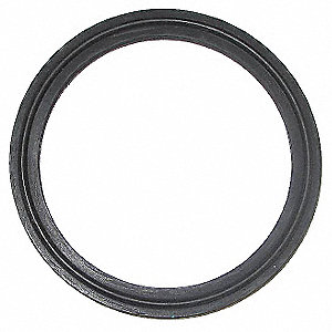Thermocouple Gasket,2 In,EPDM