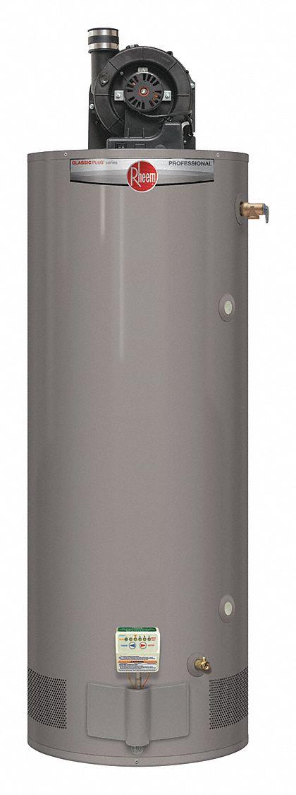 Rheem Residential Gas Water Heater 75 0 Gal Tank
