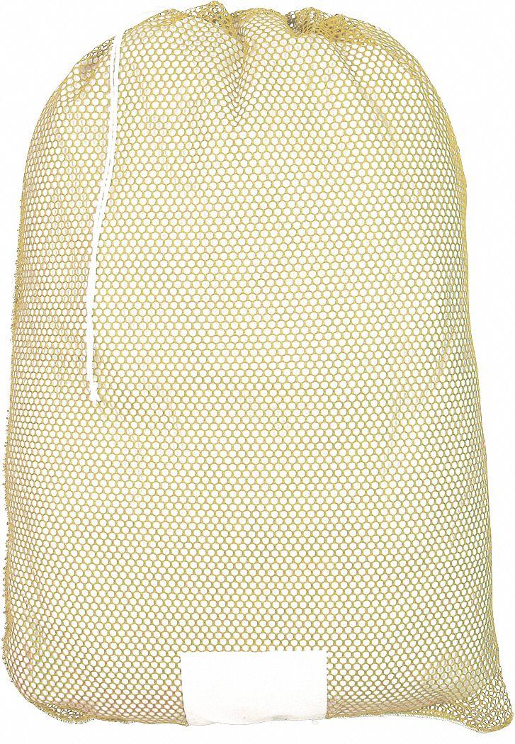 Grainger Approved Medium Weight Polyester Drawstring Mesh